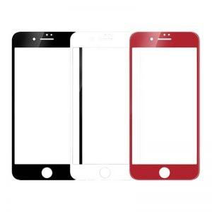 محافظ صفحه نمایش شیشه ای رنگی پشت و رو برای گوشی Apple iPhone 7 Plus