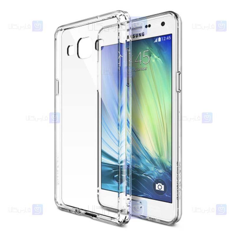 قاب محافظ شیشه ای- ژله ای برای Samsung Galaxy A3