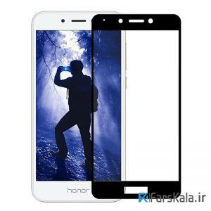 محافظ صفحه نمایش شیشه ای رنگی تمام صفحه 3D glass برای گوشی Huawei Honor 6A