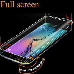 محافظ صفحه نمایش شیشه ای با پوشش کامل شفاف برای Samsung Galaxy A5 2017