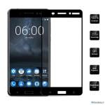 محافظ صفحه نمایش شیشه ای با پوشش کامل صفحه نمایش 3D Glass برای گوشی Nokia 5