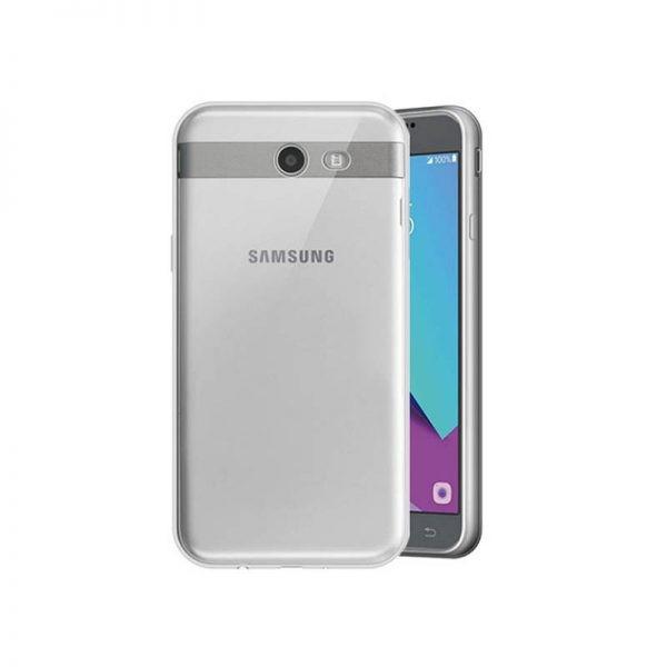 قاب محافظ شیشه ای - ژله ای Transparent Cover برای Samsung Galaxy J3 Emerge
