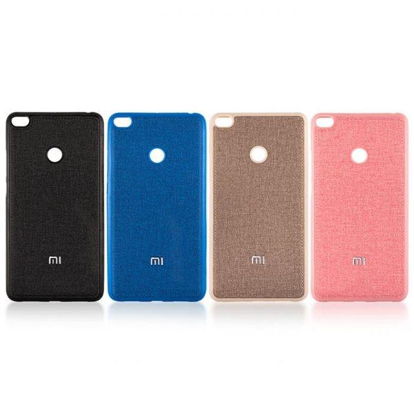 قاب محافظ طرح پارچه ای Protective Cover Xiaomi Mi Max 2