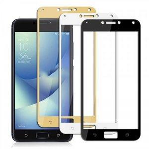 محافظ صفحه نمایش شیشه ای با پوشش کامل Glass Full Cover Asus Zenfone 4 Max ZC554KL