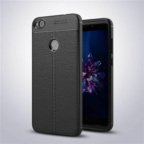 قاب ژله ای طرح چرم Auto Focus Jelly Case Huawei Honor 6X