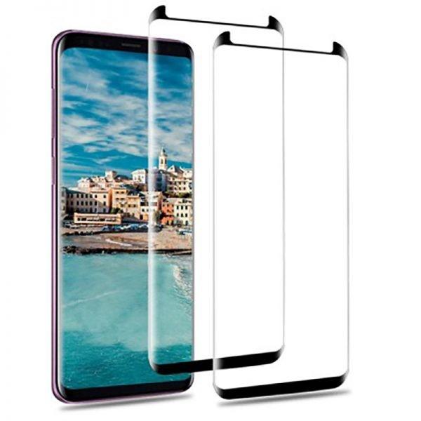 محافظ صفحه نمایش تمام چسب Galaxy S9 Plus