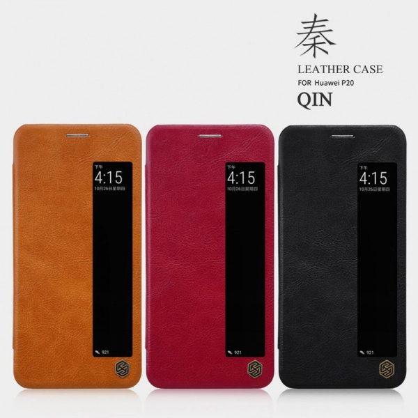 کیف چرمی نیلکین Huawei P20