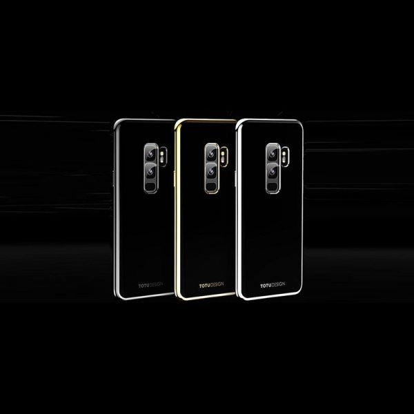 قاب محافظ ژله ای دو رنگی Galaxy S9 Plus