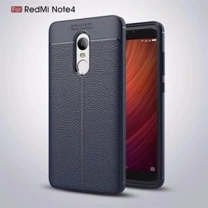 قاب ژله ای طرح چرم Auto Focus Jelly Case Xiaomi Redmi Note 4X