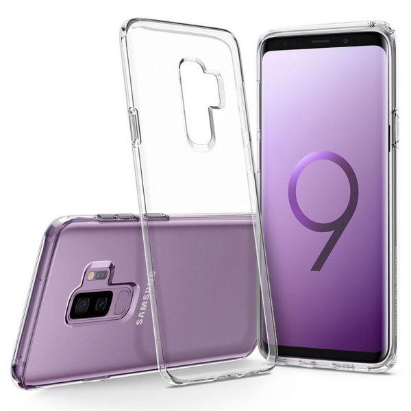 قاب محافظ شیشه ای ژله ای Galaxy S9 Plus