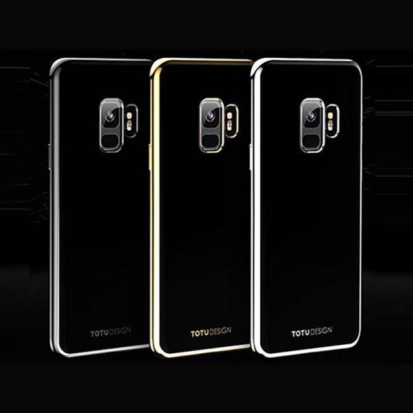 قاب محافظ ژله ای دو رنگی Galaxy S9