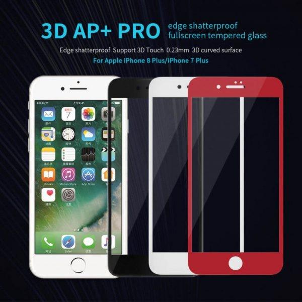 محافظ صفحه نمایش نیلکین AP+ glass Apple iPhone 8 Plus