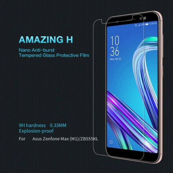 محافظ صفحه نیلکین H Glass Asus Zenfone Max (M1) (ZB555KL)