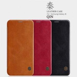 کیف چرمی نیلکین Qin Samsung Galaxy J6