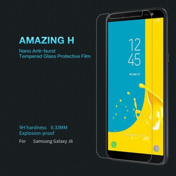 محافظ صفحه نمایش نیلکین H Glass Samsung Galaxy J6 (J600)