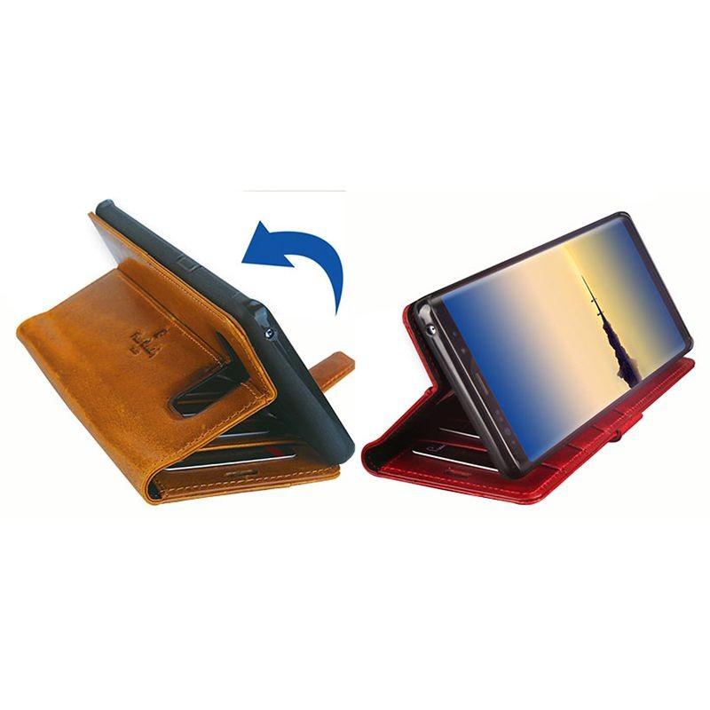 کیف محافظ چرمی پیرکاردین Samsung Galaxy Note 8