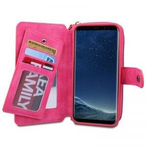 کیف پول چرمی بی ار جی Samsung Galaxy S8