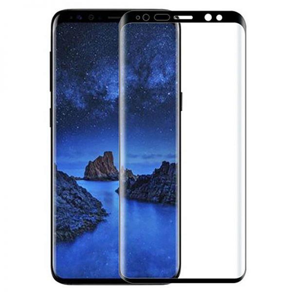 گلس فول چسب بوف Full Adhesive BUFF Glass Samsung Galaxy S9