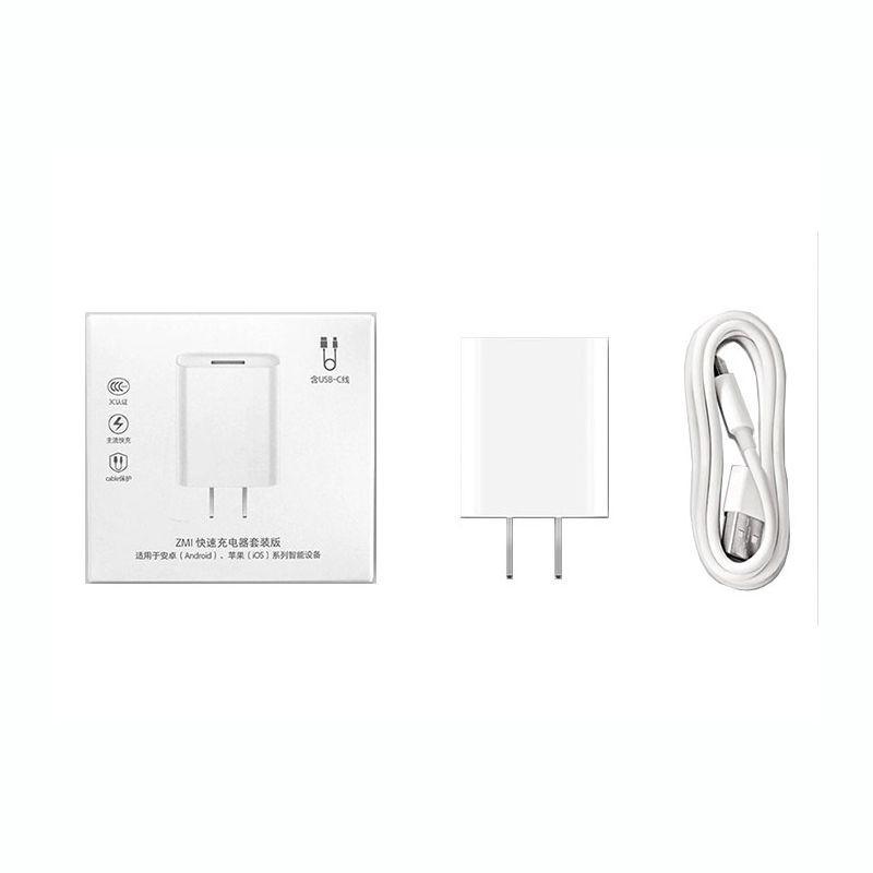 آداپتور و کابل شارژ تایپ سی Xiaomi ZMI USB HA612 Charger