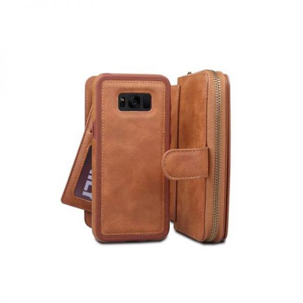 کیف پول چرمی بی ار جی Samsung Galaxy S8 Plus