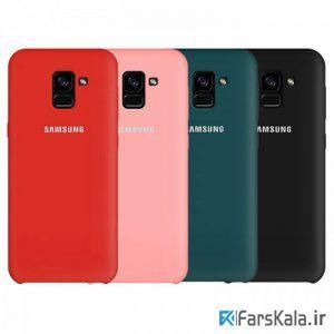 قاب محافظ سیلیکونی Silicone Cover Samsung Galaxy A8 2018