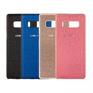 قاب محافظ طرح پارچه ای سامسونگ Protective Cover Samsung Galaxy Note 8