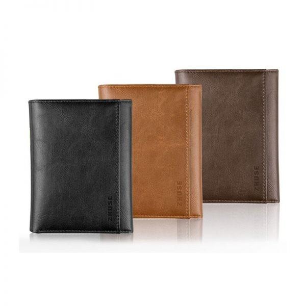 کیف چرمی و پاور بانک Zhuse ZS-PB-018 4000mAh
