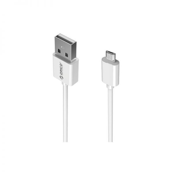 کابل میکرو یو اس بی سریع Orico 3A Micro USB Cable ADC-20 2m