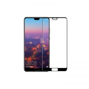 گلس تمام چسب با پوشش کامل Huawei P20