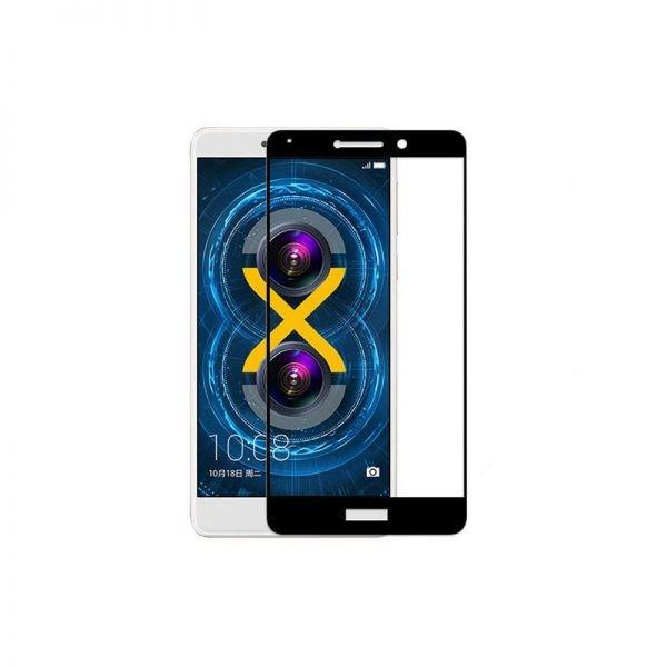 گلس تمام چسب با پوشش کامل Huawei Honor 6X