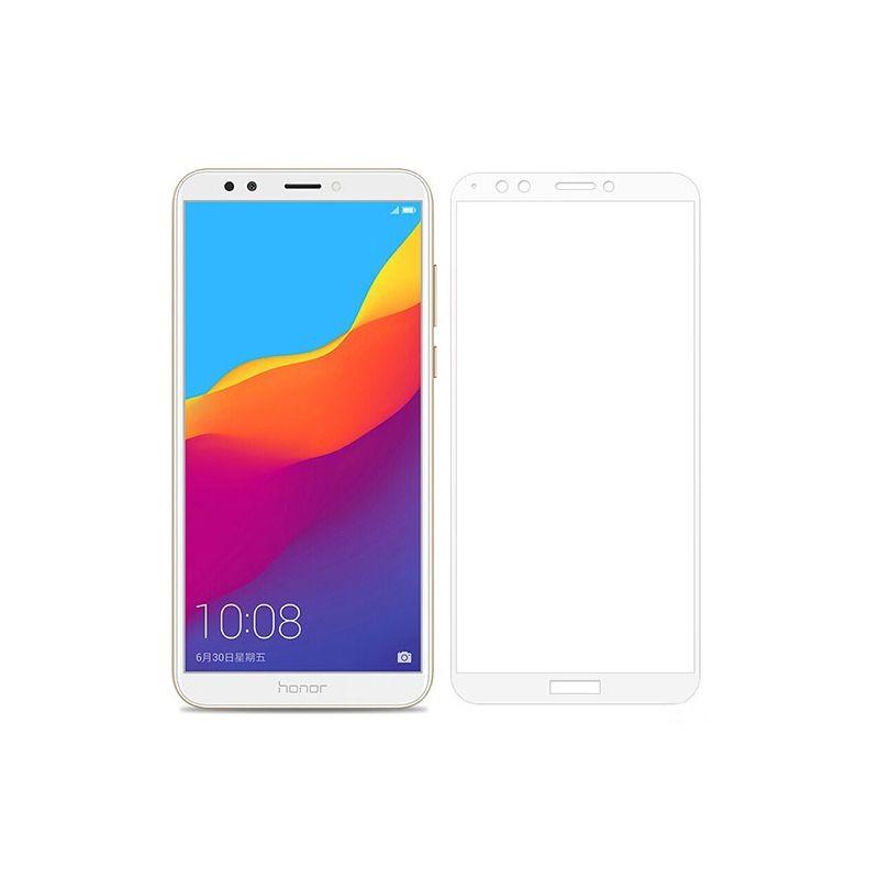 گلس تمام چسب با پوشش کامل Huawei Y7 Prime 2018