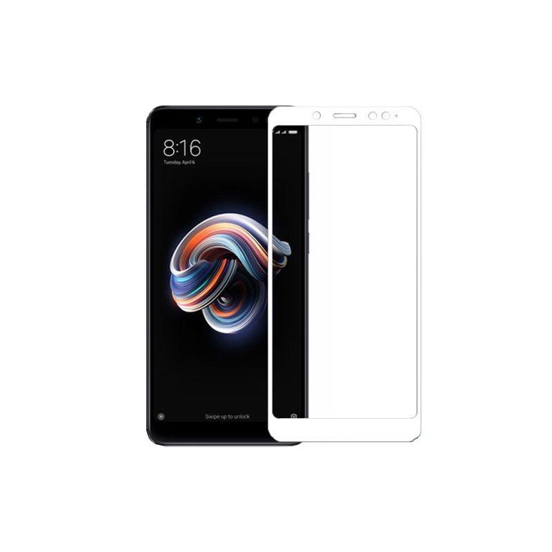 گلس تمام چسب با پوشش کامل Xiaomi Mi 6X/Mi A2