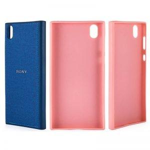 قاب محافظ طرح پارچه ای سونی Protective Cover Sony Xperia L1