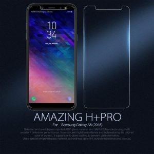 محافظ صفحه نمایش نیلکین H+ Glass Samsung Galaxy A6 2018