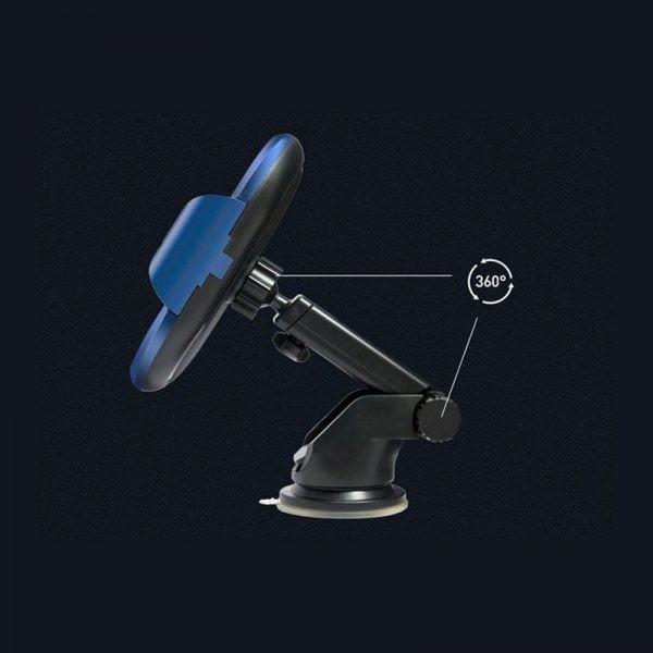 هولدر هوشمند و شارژر وایرلس WUW W10