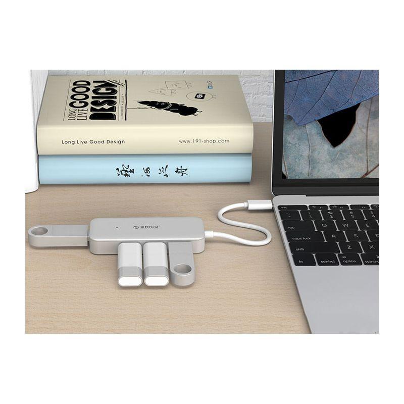 هاب Orico Type-C to USB3.0-A 4 HUB TC4U-U3