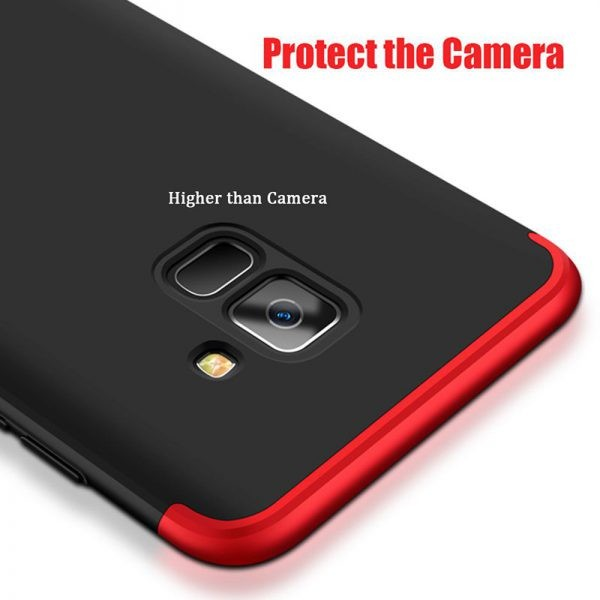 قاب محافظ Samsung Galaxy A6 2018 Color Full Cover