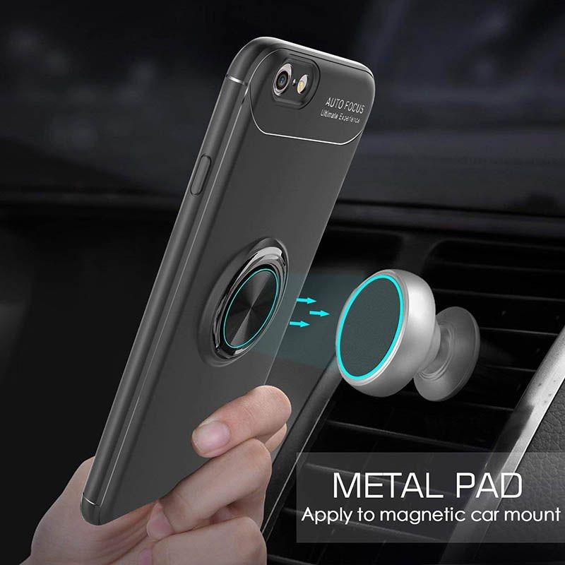 محافظ ژله ای Magnetic Ring Case Apple iPhone 6