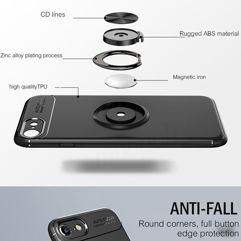 محافظ ژله ای Magnetic Ring Case Apple iPhone 7