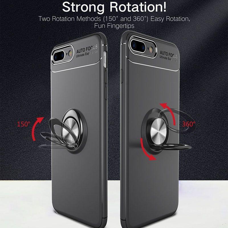 محافظ ژله ای Magnetic Ring Case Apple iPhone 7 Plus