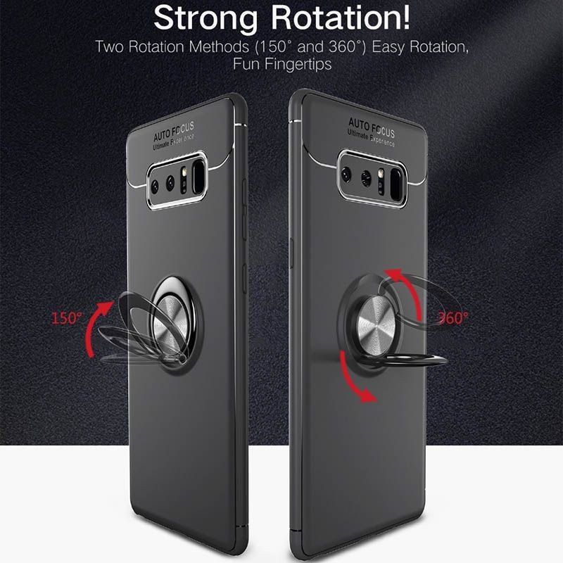 محافظ ژله ای Magnetic Ring Case Samsung Galaxy Note 8