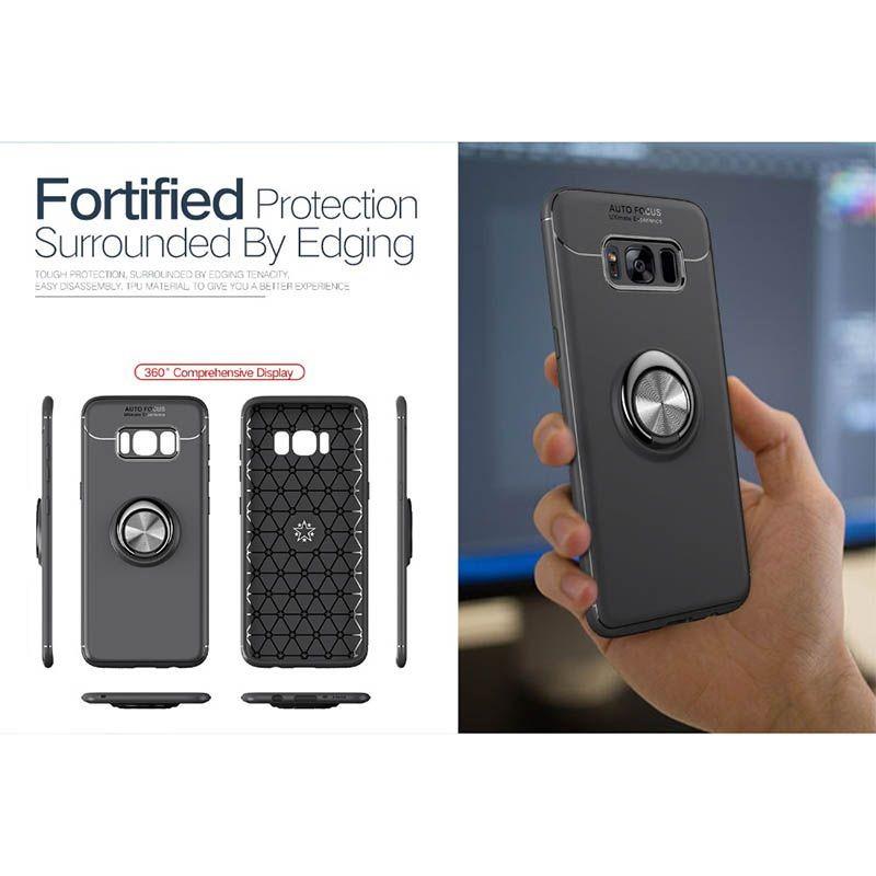 محافظ ژله ای Magnetic Ring Case Samsung Galaxy S8