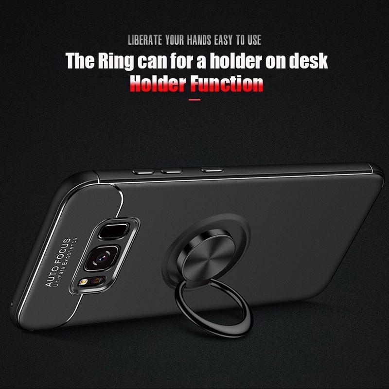 محافظ ژله ای Magnetic Ring Case Samsung Galaxy S8 Plus