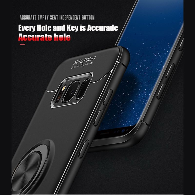 محافظ ژله ای Magnetic Ring Case Samsung Galaxy S8 Plus