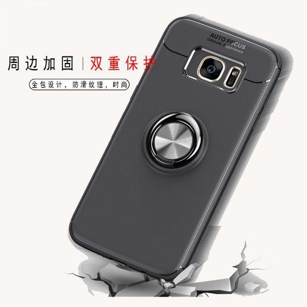 محافظ ژله ای Magnetic Ring Case Samsung Galaxy S7 Edge