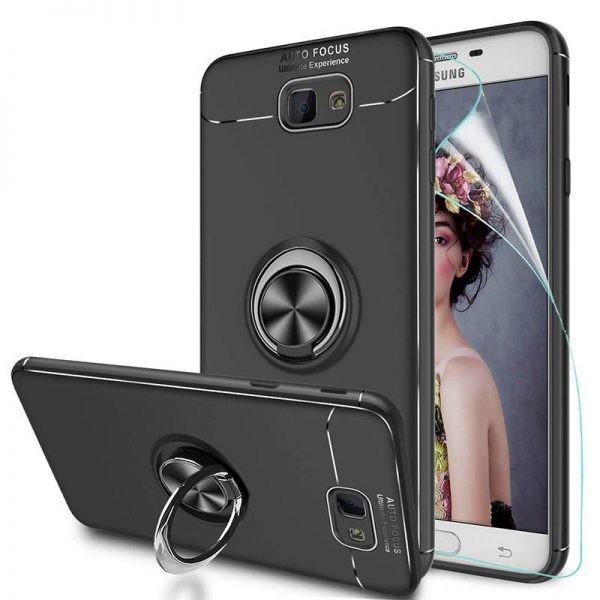 محافظ ژله ای Magnetic Ring Case Samsung Galaxy J7 Prime