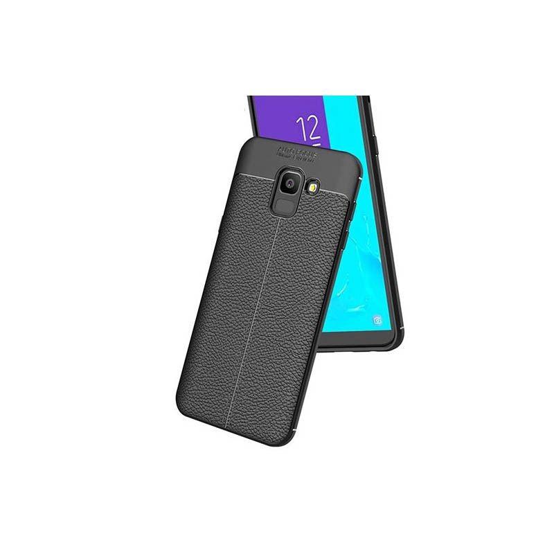 قاب ژله ای طرح چرم Auto Focus Samsung Galaxy J6