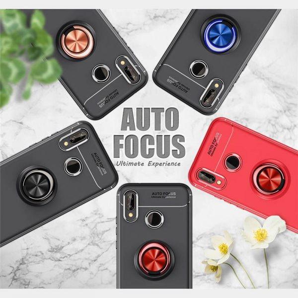 محافظ ژله ای Magnetic Ring Case Huawei P20 Pro