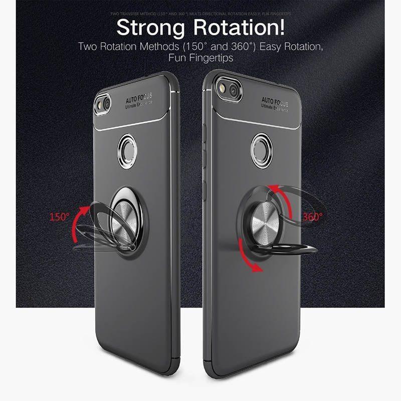 محافظ ژله ای Magnetic Ring Case Huawei Honor 8 Lite