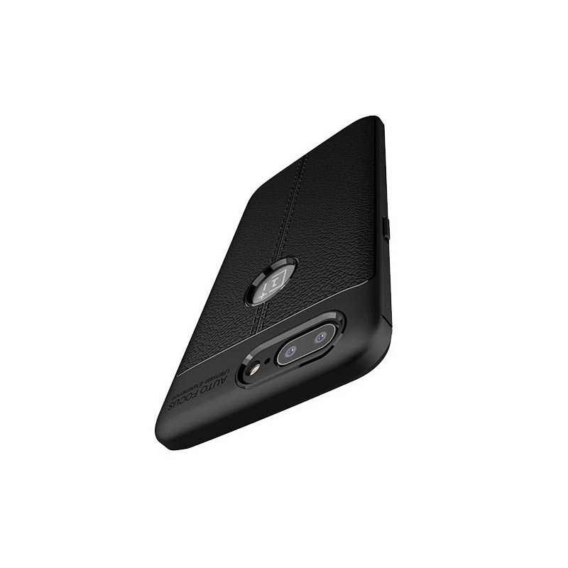 قاب ژله ای طرح چرم Auto Focus OnePlus 5T